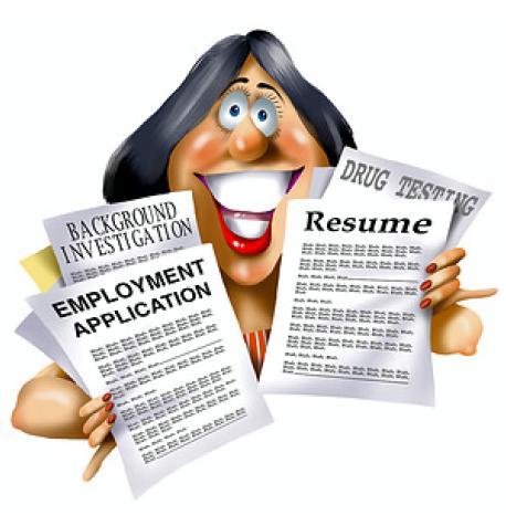 resume lady