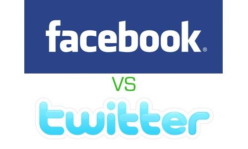 Twitter VS Facebook