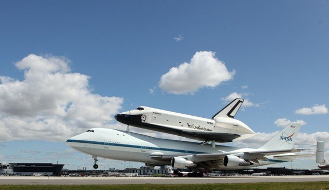 Space Shuttle in New York City