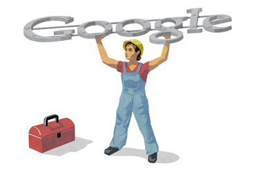 Google Doodle Labor Day 2012