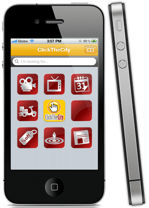 Click the City Mobile App