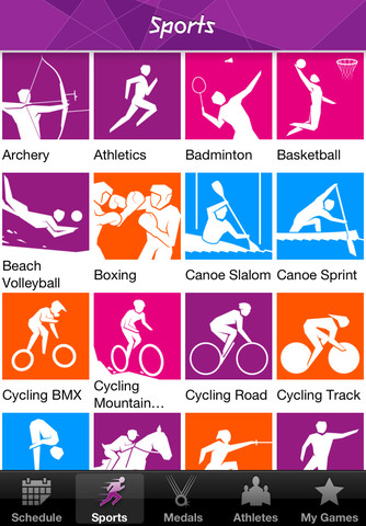 London Olympics 2012 Results Official App