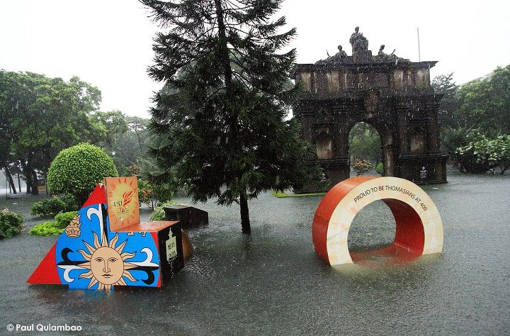 UST Flooded Arch