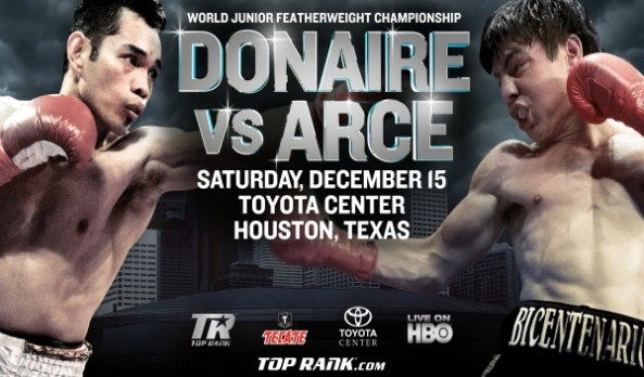 Watch Donaire VS Arce Live